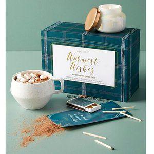 ANTHROPOLOGIE Capri Blue Cocoa & Candle Gift Set